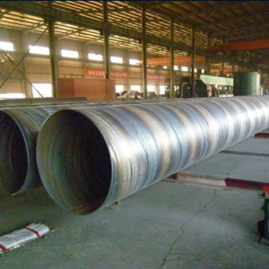 Spiral steel pipe for offshore pipe