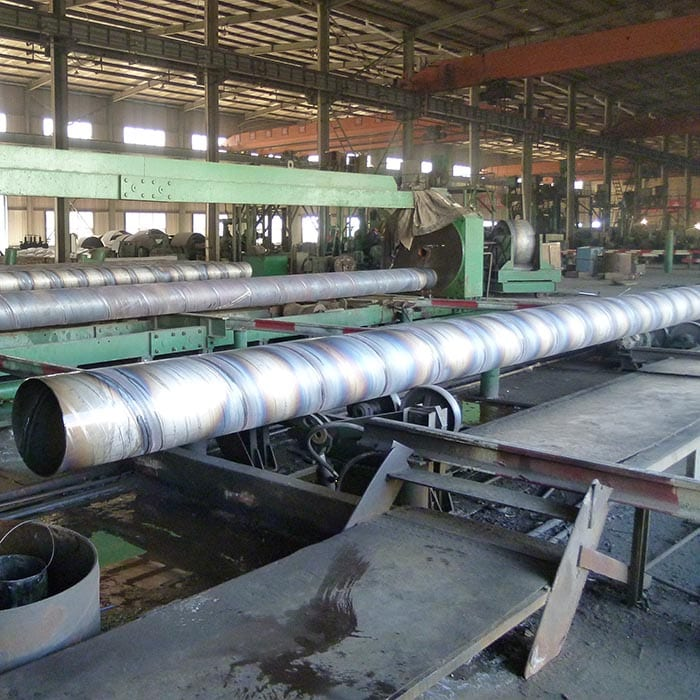 Factory source Rectangular Structural Hollow Pipe - Spiral Welded Line Pipe – Shenzhoutong